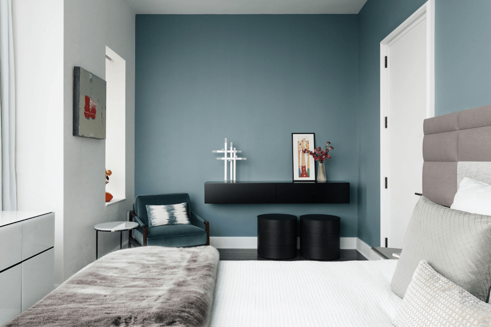 Working with colors: Home's interior